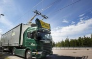 В Швеции открыли электрическую дорогу для грузовиков