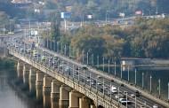 На мосту Патона уберут полосы реверсивного движения